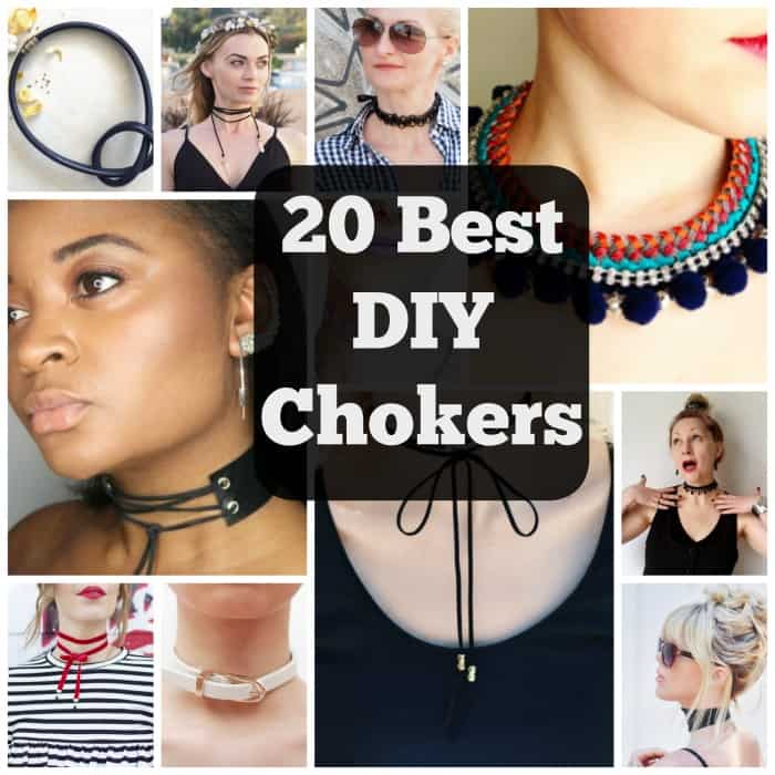 20 Best DIY Choker Necklaces to Glam Yourself Up
