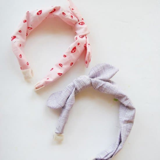 Faux Tied Headbands
