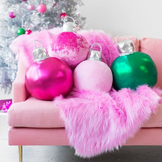 Ornament Pillows