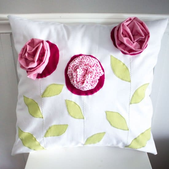 Upcycled Throw Pillow