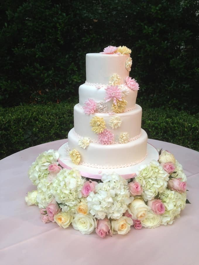 121 amazing wedding cake ideas you will love cool crafts floral wedding cake mightylinksfo