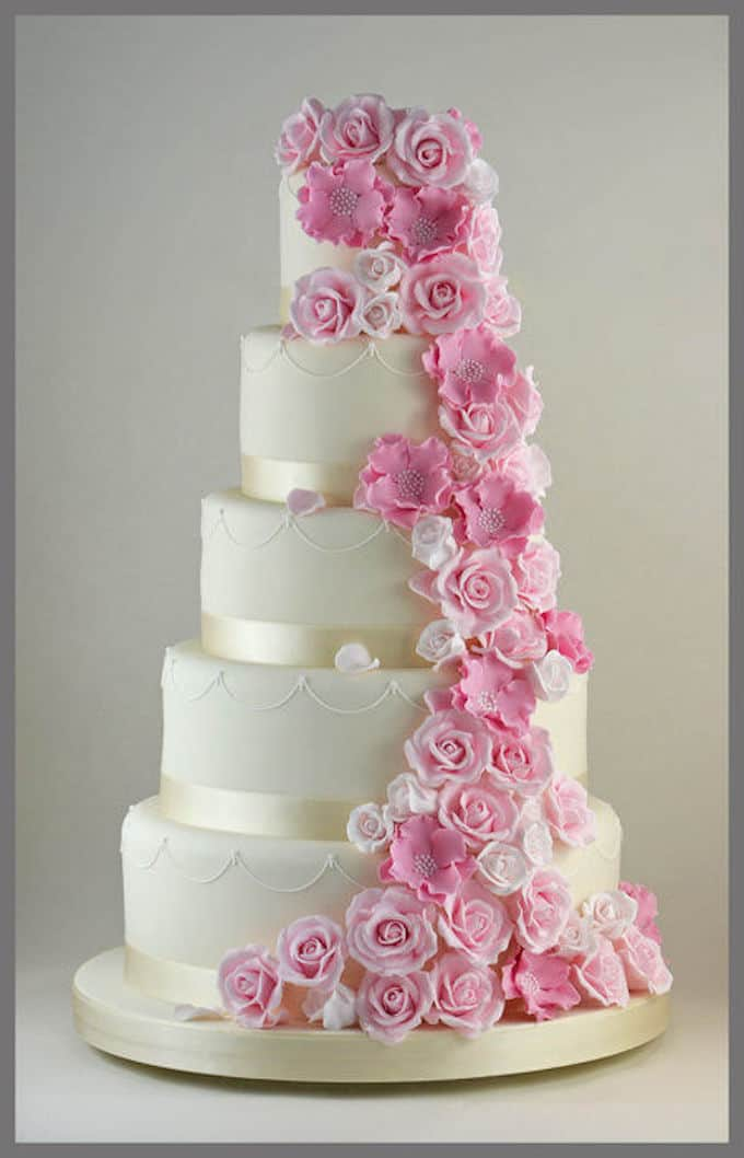 121 amazing wedding cake ideas you will love cool crafts share on pinterest mightylinksfo