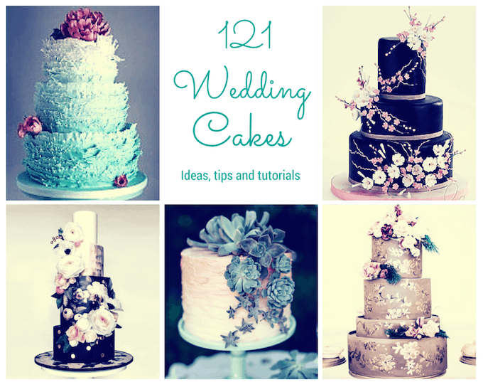 a137dc7d12ee 121 Amazing Wedding Cake Ideas You Will Love • Cool Crafts