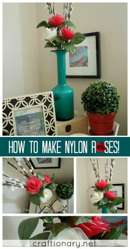nylon roses