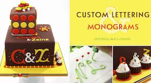 Custom Lettering & Monograms class