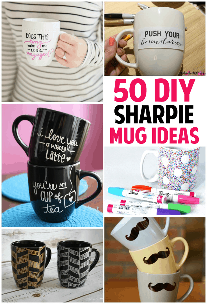 50 unique sharpie mug ideas diy sharpie mugs solutioingenieria Choice Image