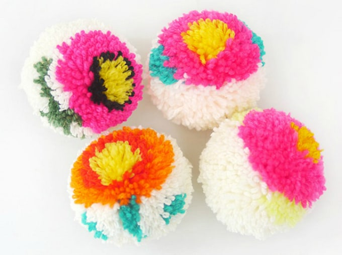 craft ideas with pom poms 60 amazing diy pom pom crafts 6342