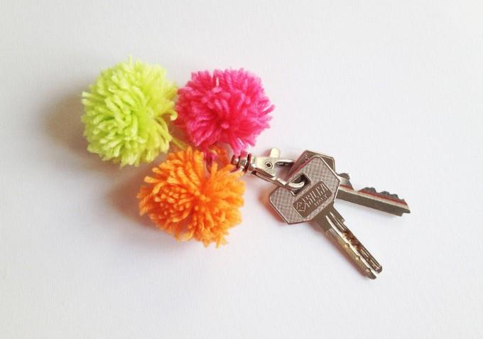 pom pm keychain