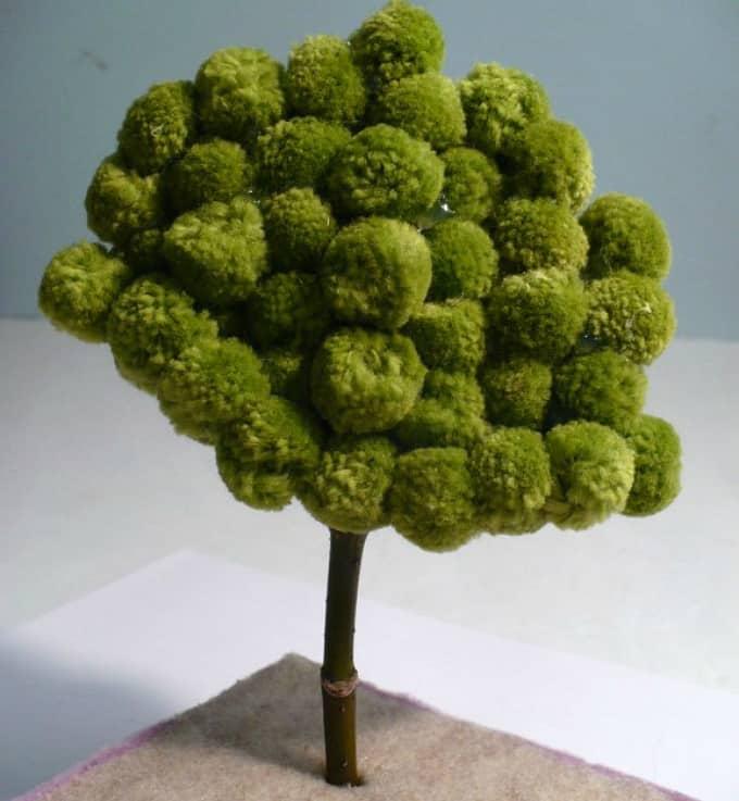 minature pom pom tree