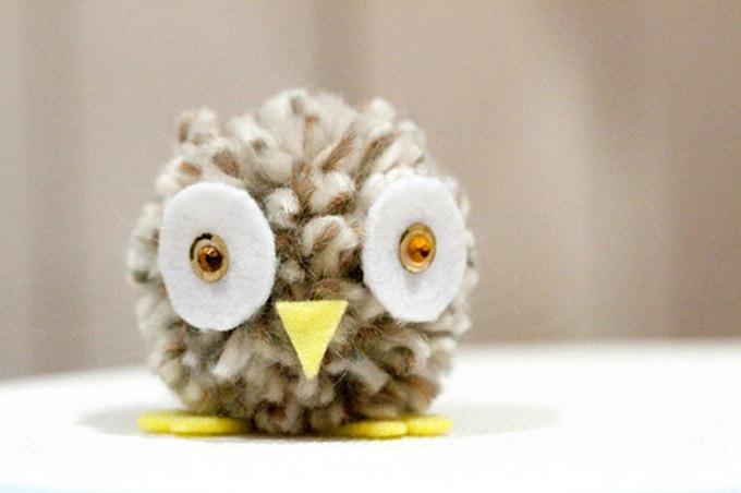 pom pom owl