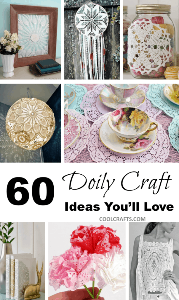 60 Doily Craft Projects You'll Love