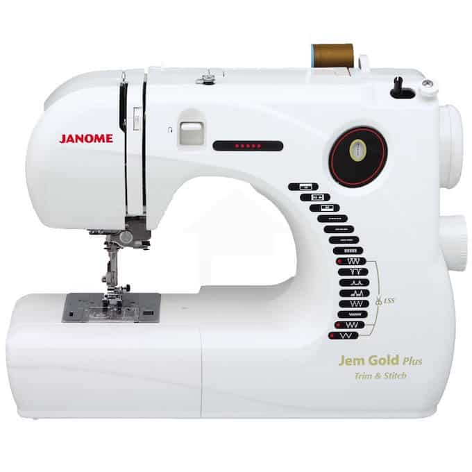 Janome Jem Gold Plus Sewing Machine