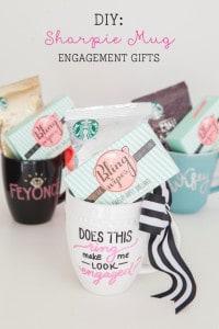 Sharpie Mug Engagement Gifts