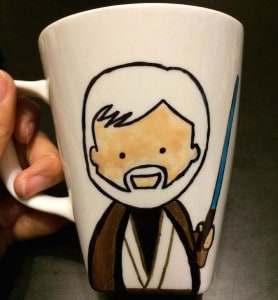 Star Wars Sharpie Mug