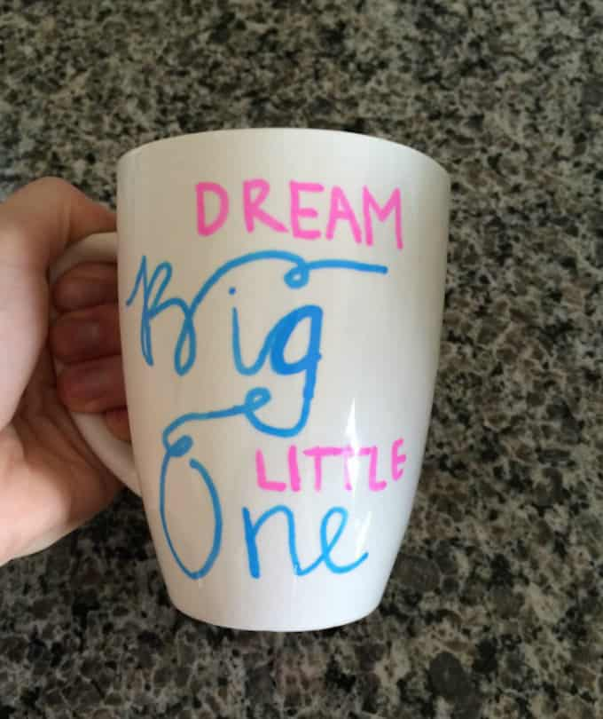 children sharpie mug