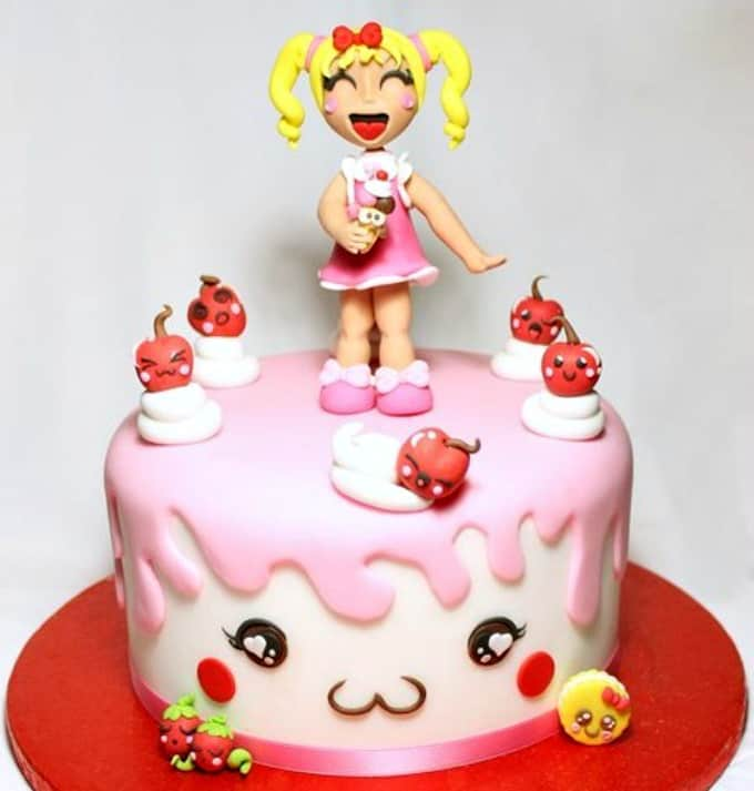 Celebrate All Things Kawaii And Practice Your Cake Skills By Following This Step Guide From Corriere Della Sera Cute Quirky Will Be A