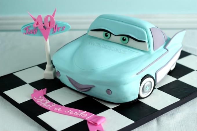 Flo cake