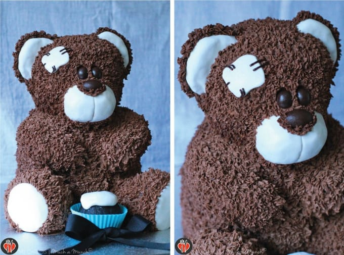 mr teddy bear cake