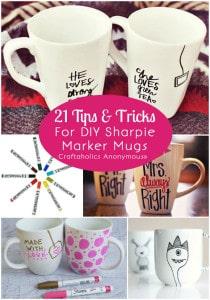 sharpie mug tips