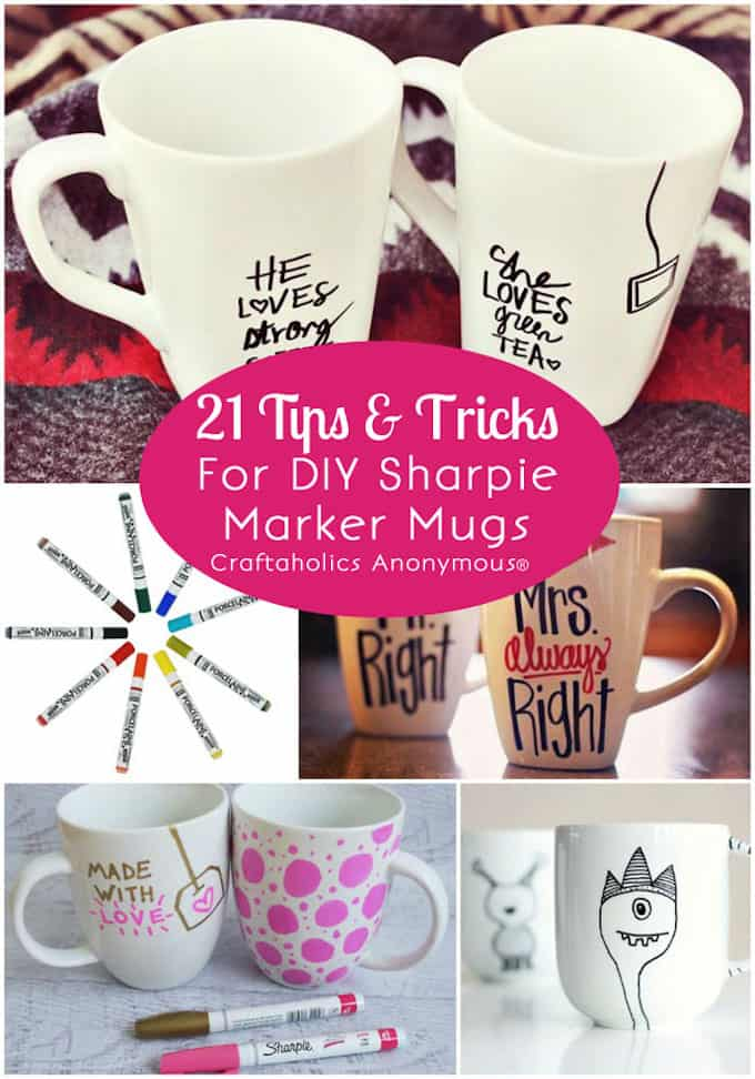 sharpie mug tips