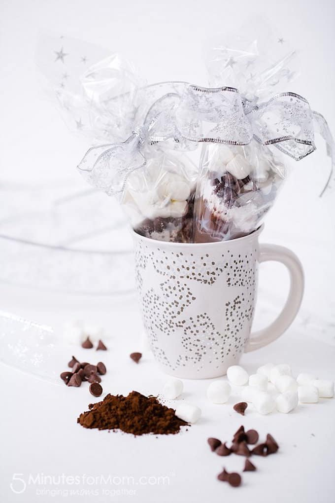 sharpie mug with chocolate