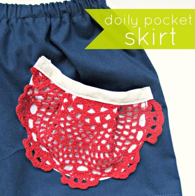 doily skirt pockets