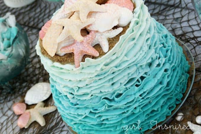 star fish cake