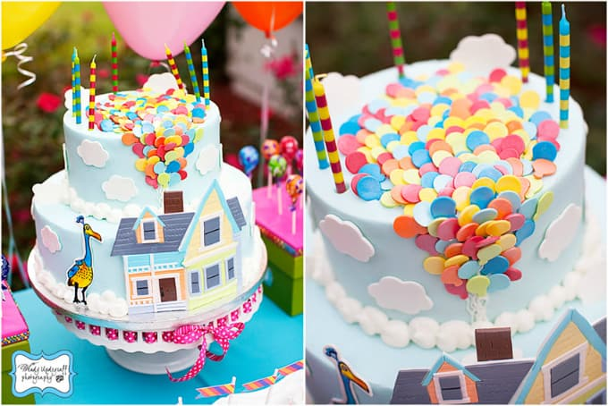 movie Up themed cake