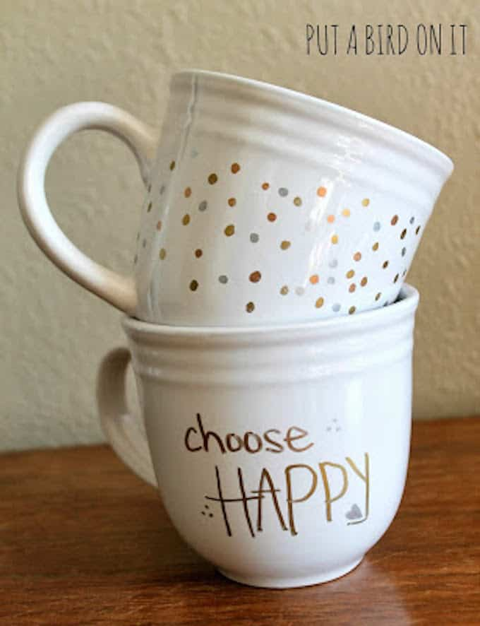 west elm inspired sharpie mug