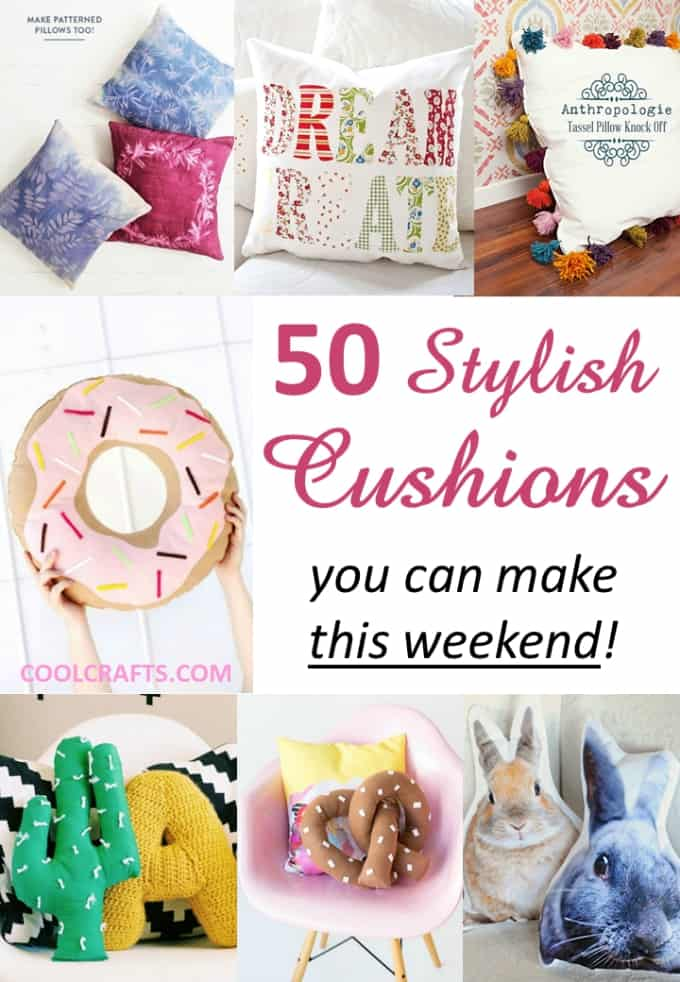 cushion craft ideas