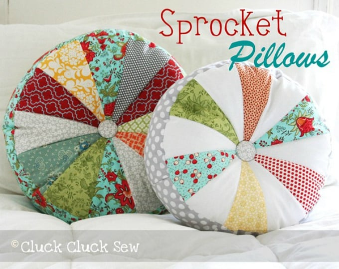 sprocket pillows