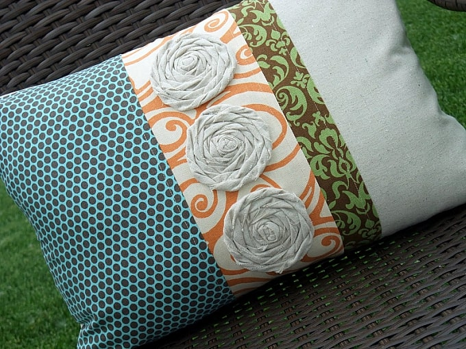 pillow fabric tutorial