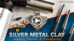 silver metal clay craftsy class