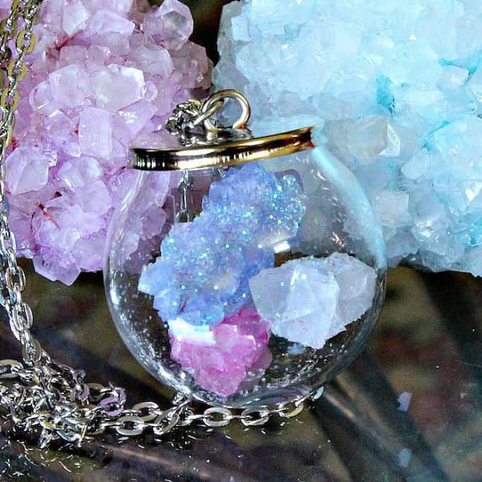 Diy Design Objects: 40 Dazzling DIY Gemstone Projects • Cool Crafts