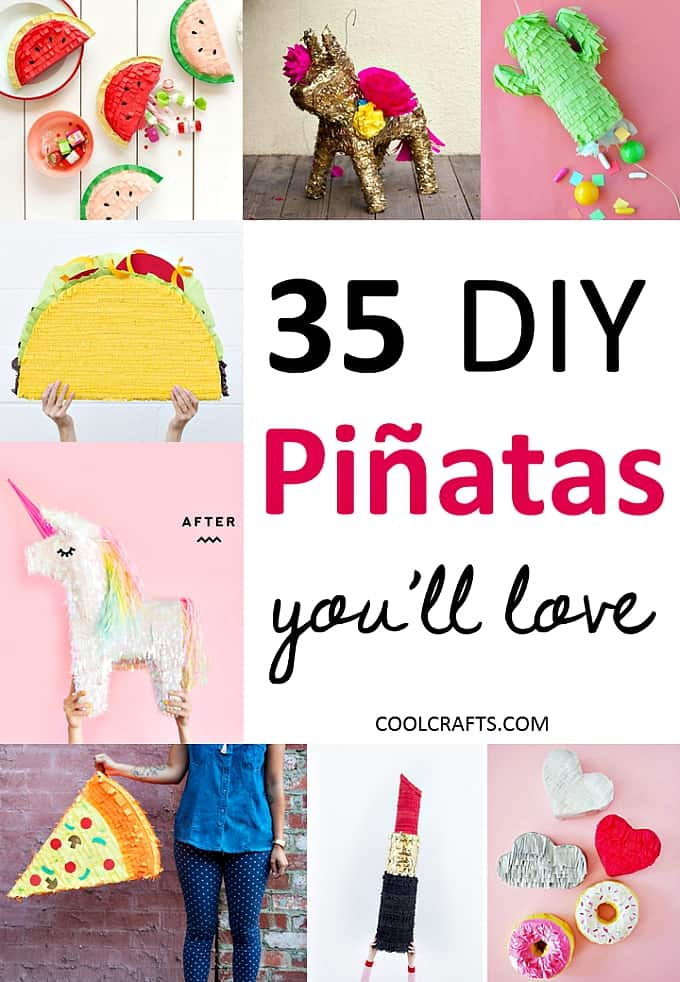 35 Pinata Ideas That Will Be The Life Of Any Party