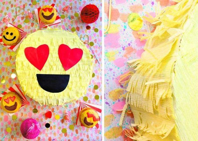 DIY Emoji piñata