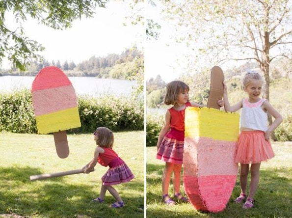 giant popsicle piñata