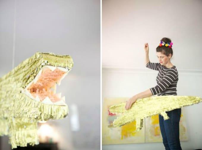 alligator piñata