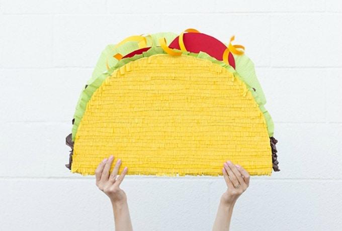 giant taco piñata