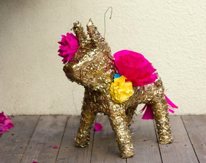glided piñata makeover