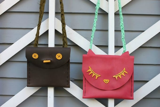 leather pouches for kids