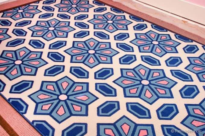 diy paint your own rug