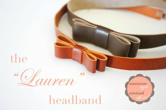 leather headbands