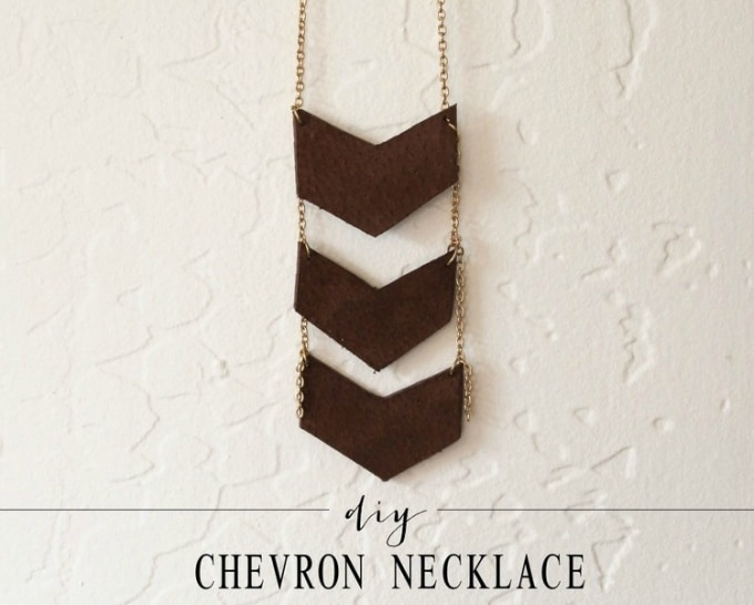 chevron necklace