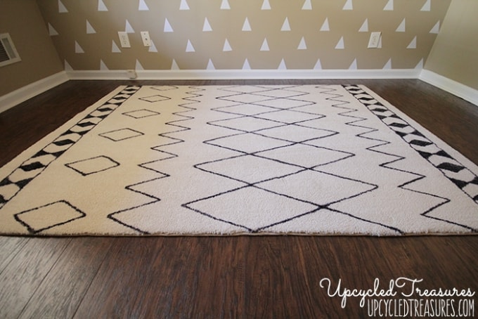 diy sharpie rug