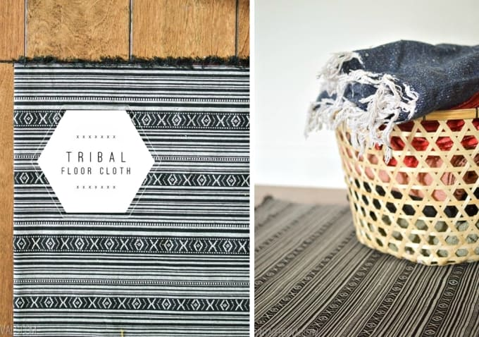 diy tribal rug