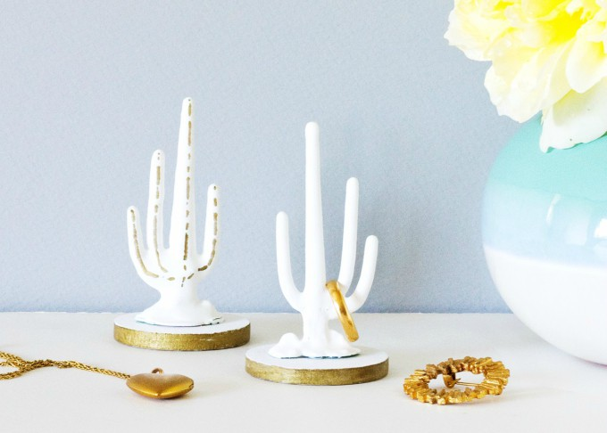 cactus ring holder