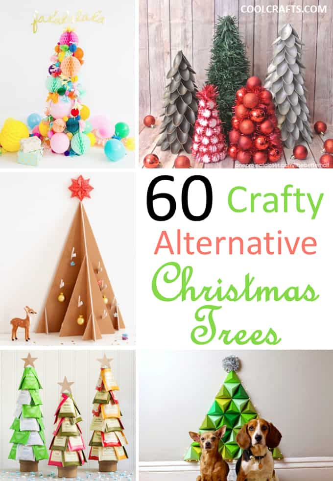 Christmas Tree Alternative.60 Cool Alternative Christmas Tree Ideas Cool Crafts