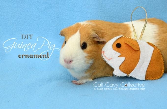 guinea pig ornament