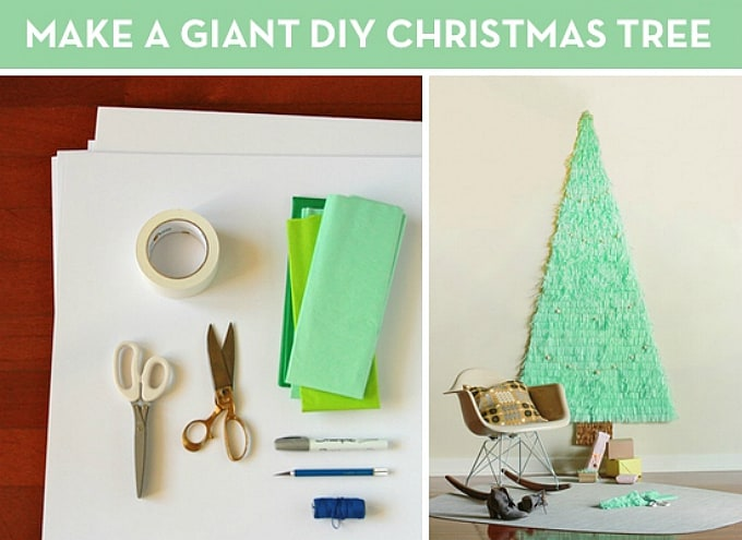 giant diy christmas tree